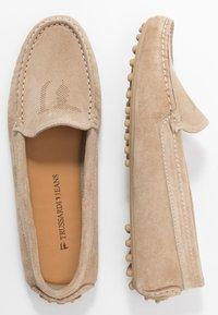 Trussardi Jeans - EXCLUSIVE  - Mokkasiner - cappucino - 3