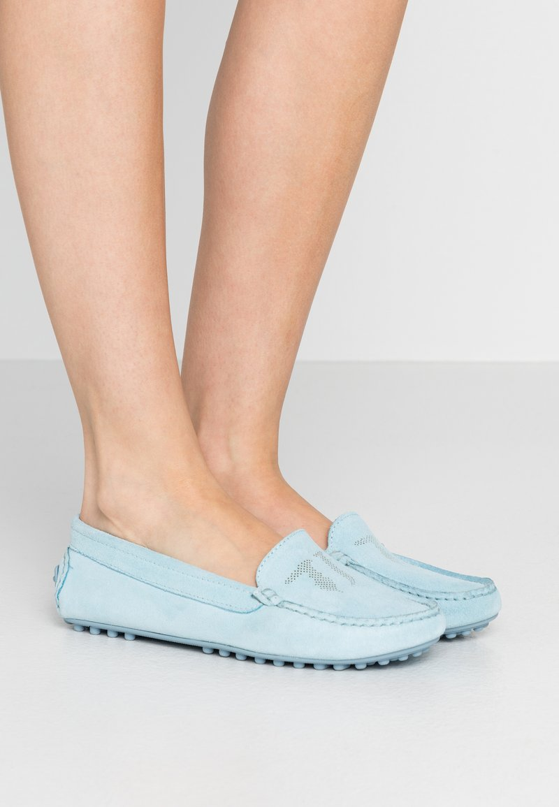 Trussardi Jeans - EXCLUSIVE  - Mocasines - sky