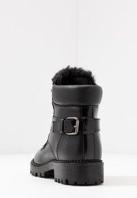 Trussardi Jeans - Stivaletti stringati - black - 5