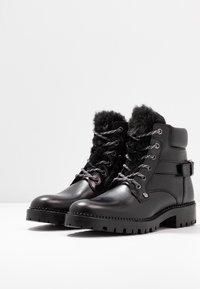 Trussardi Jeans - Stivaletti stringati - black - 4