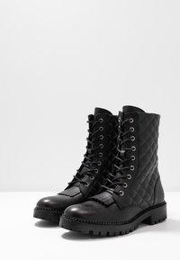 Trussardi Jeans - Veterboots - black - 4
