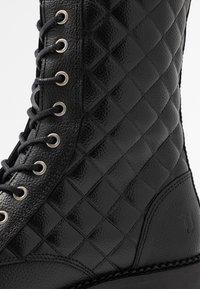 Trussardi Jeans - Veterboots - black - 2