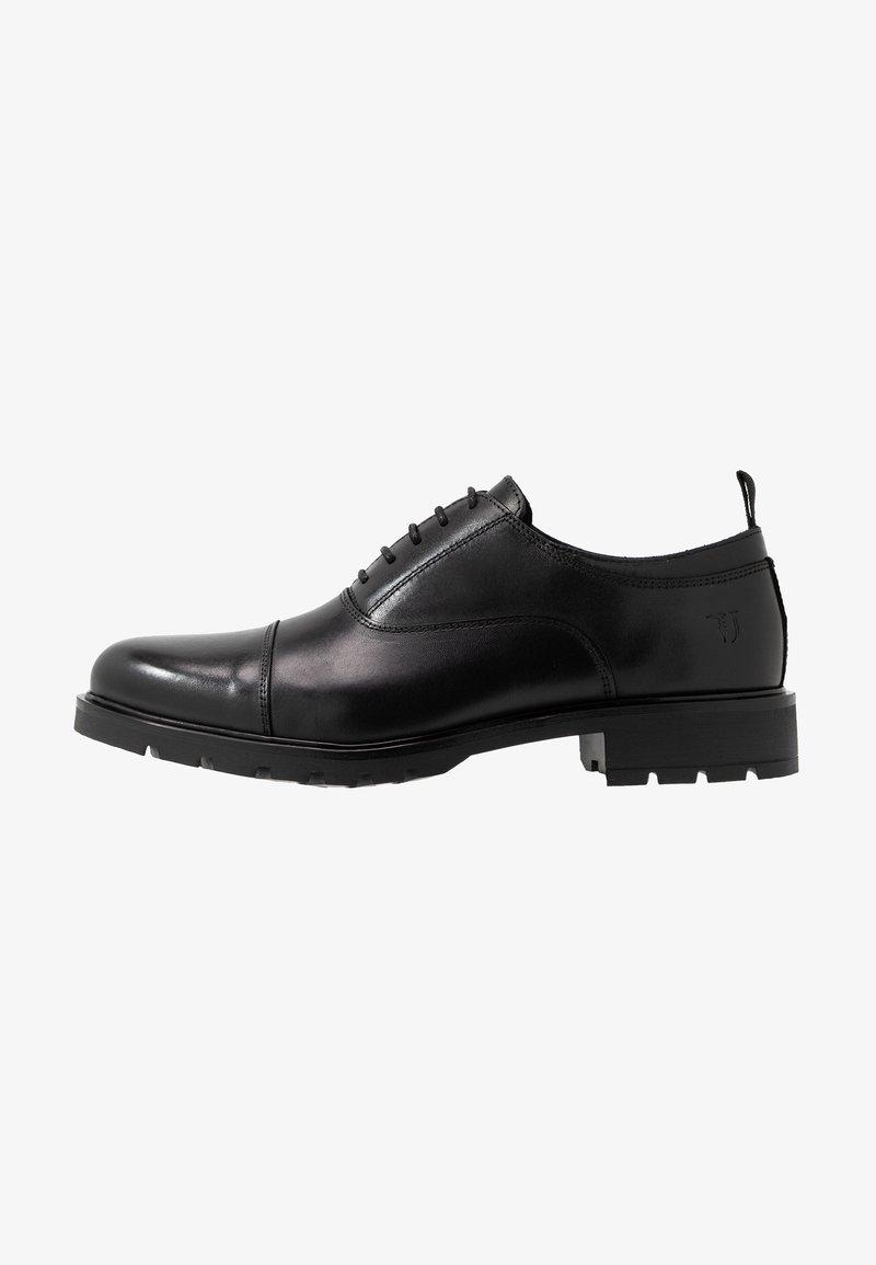 Black Derbies Trussardi Trussardi Jeans Derbies Derbies Jeans Trussardi Jeans Black bfgy76