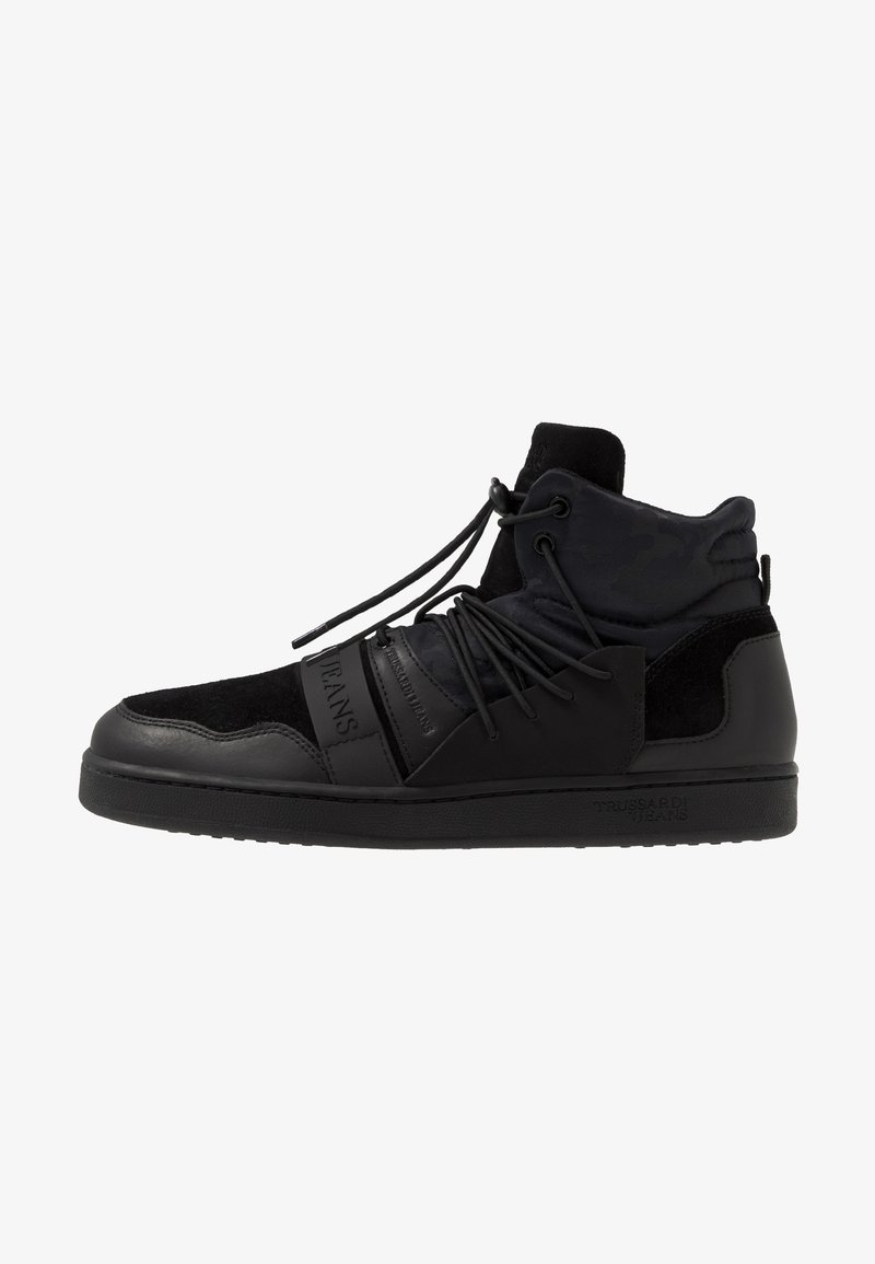 Trussardi Jeans - Sneakers hoog - black
