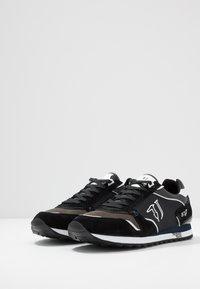Trussardi Jeans - Baskets basses - anthracite/blue/navy - 2