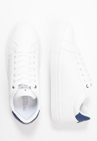Trussardi Jeans - Trainers - white/blue navy - 1