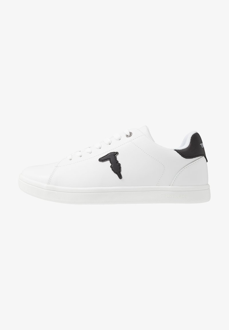 Trussardi Jeans - Trainers - white/black