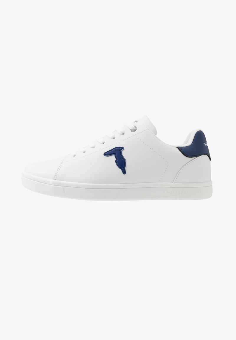 Trussardi Jeans - Tenisky - white/blue navy