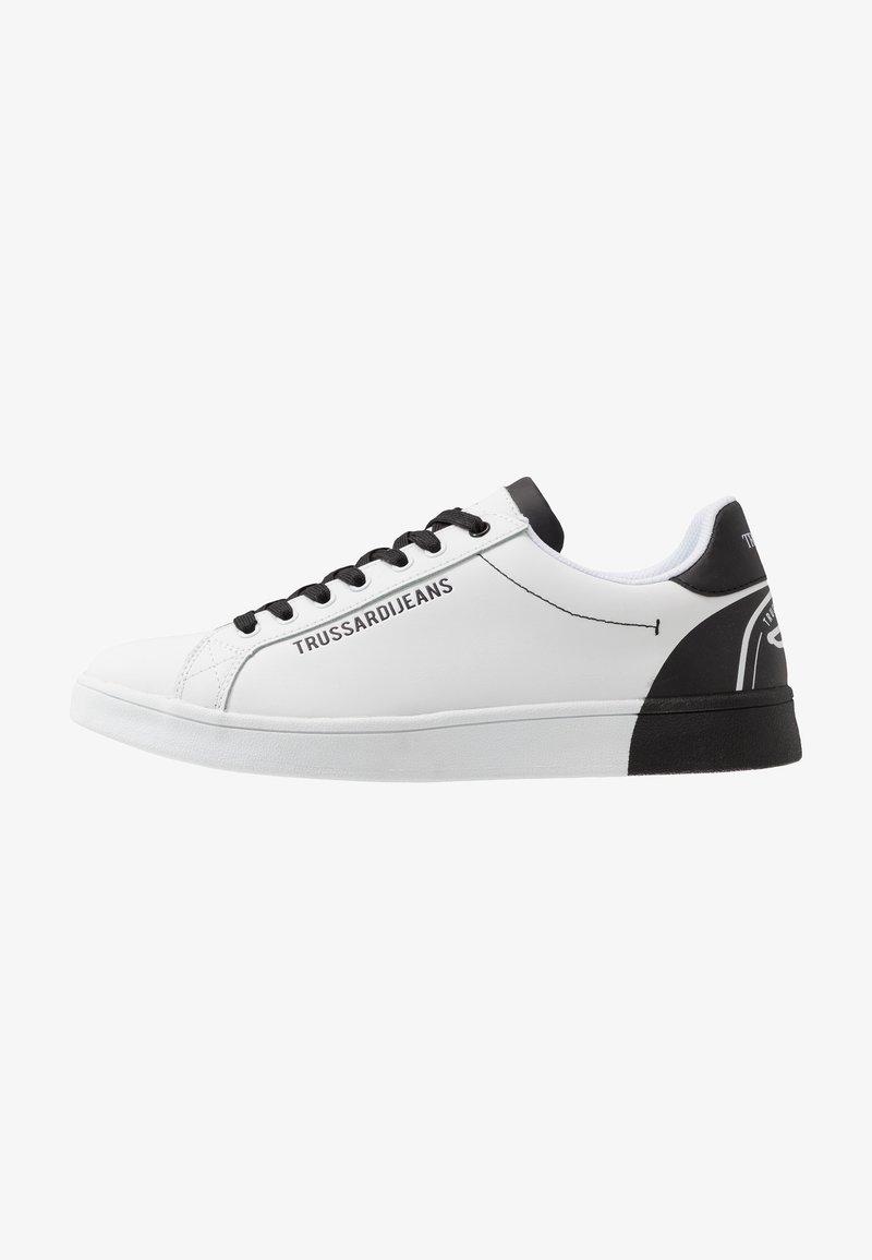 Trussardi Jeans - Baskets basses - white/black