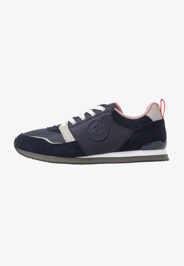 Sneakers laag - navy blue/grey