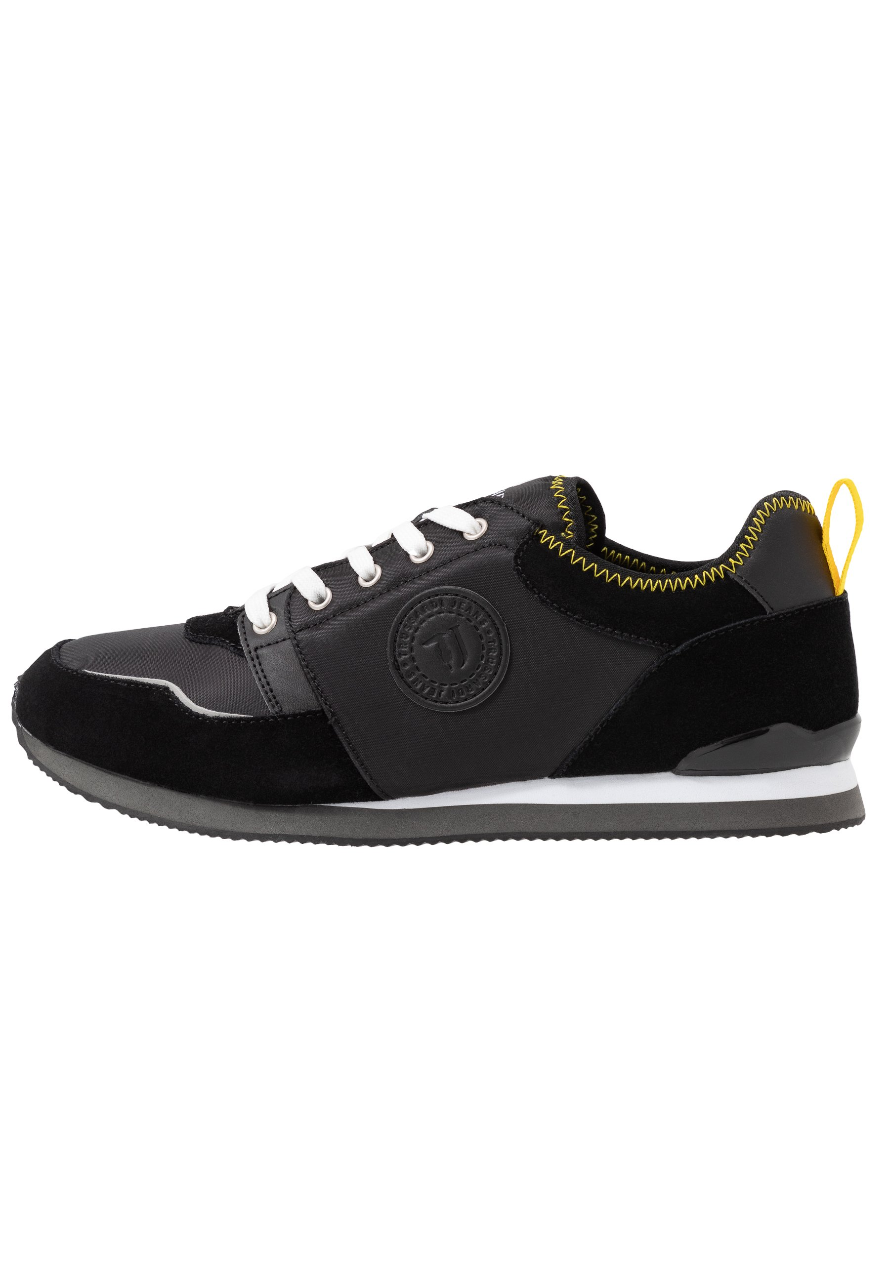 Trussardi Jeans Joggesko - Black/yellow