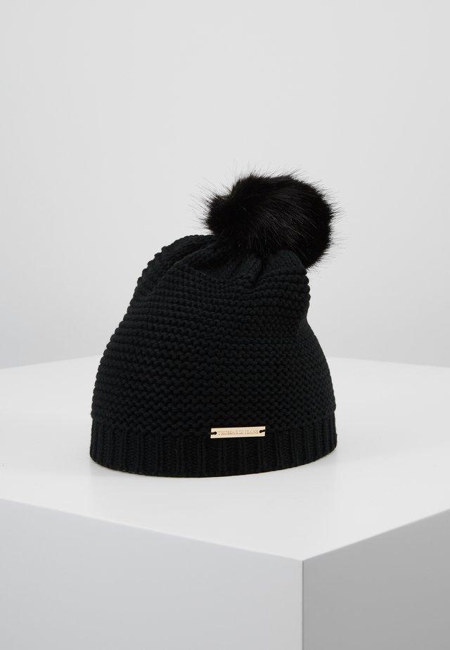 ECOFUR PON PON - Čepice - black