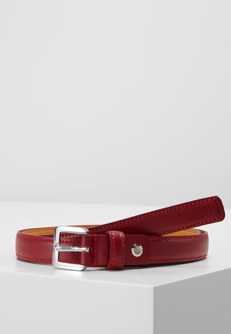 Trussardi Jeans - BELT ENTRY PRICE - Cinturón - red