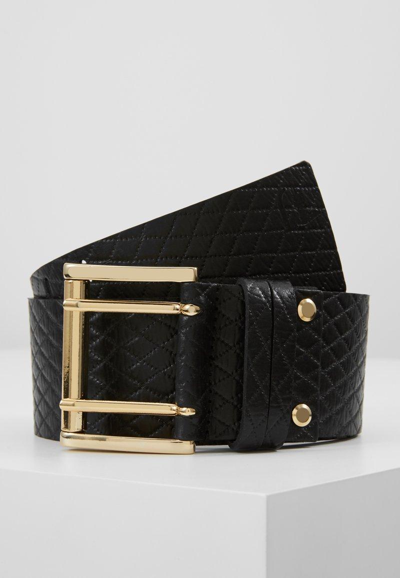 Trussardi Jeans - CUBE QUILT - Taillengürtel - black