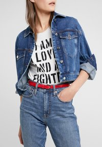 Trussardi Jeans - T-EASY LIGHT BELT - Gürtel - red - 1