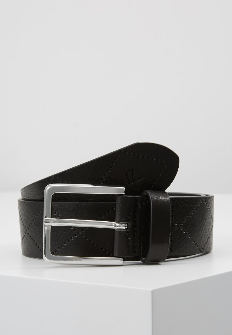 Trussardi Jeans - T-EASY QUILT  - Belt - black