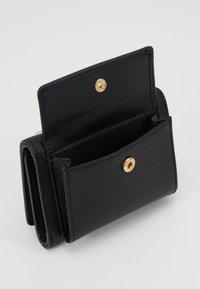 Trussardi Jeans - BELLA CONTINENTAL SAFFIANO - Peněženka - black - 6