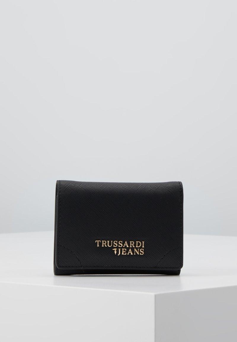 Trussardi Jeans - BELLA CONTINENTAL SAFFIANO - Peněženka - black