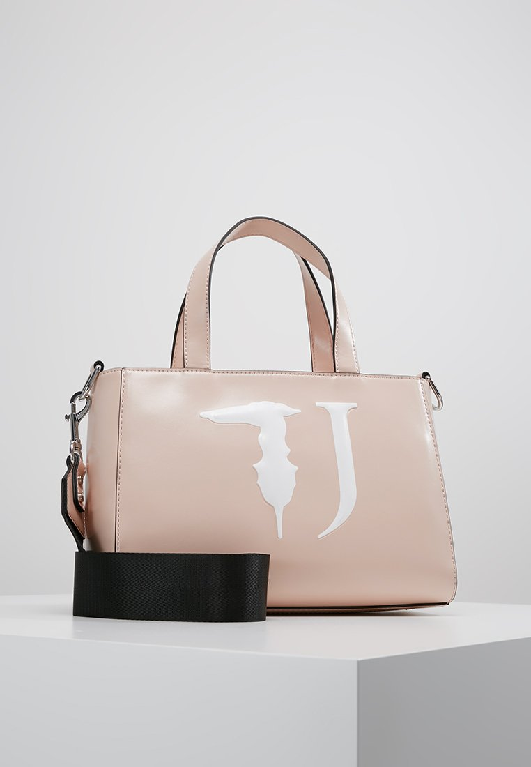 Trussardi Jeans - EASY TOTE MONO - Handbag - light pink