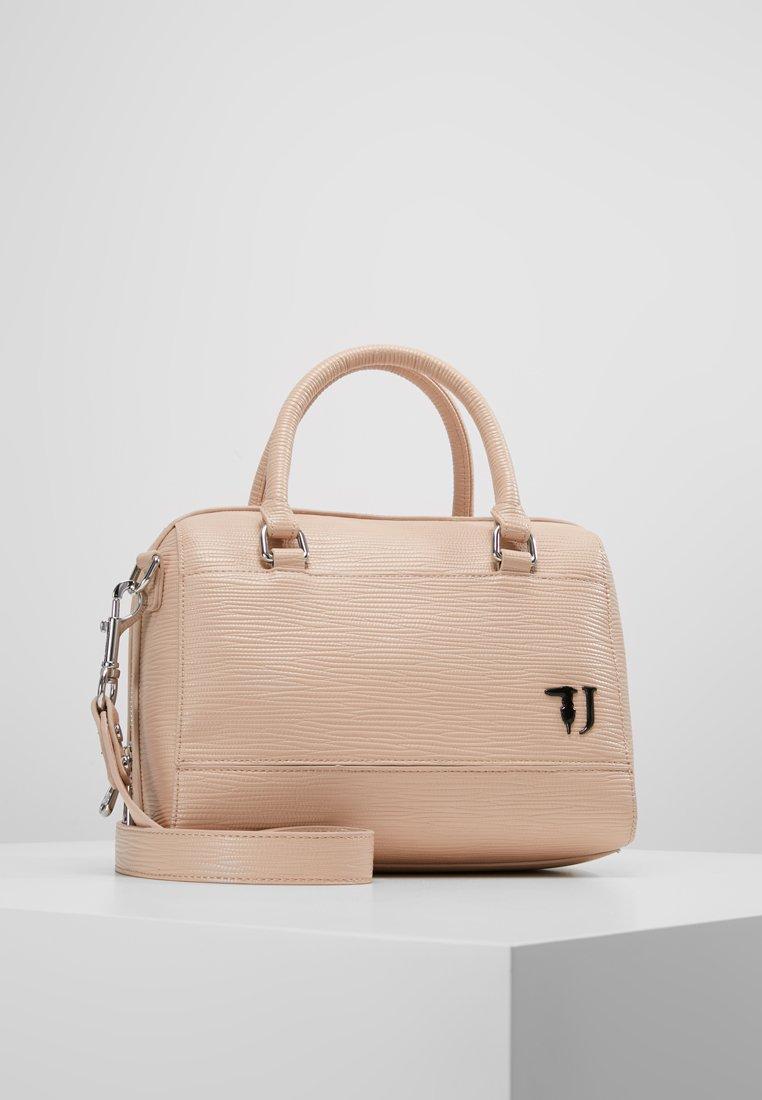 Trussardi Jeans - EASY CITY BAULETTO - Handbag - beige