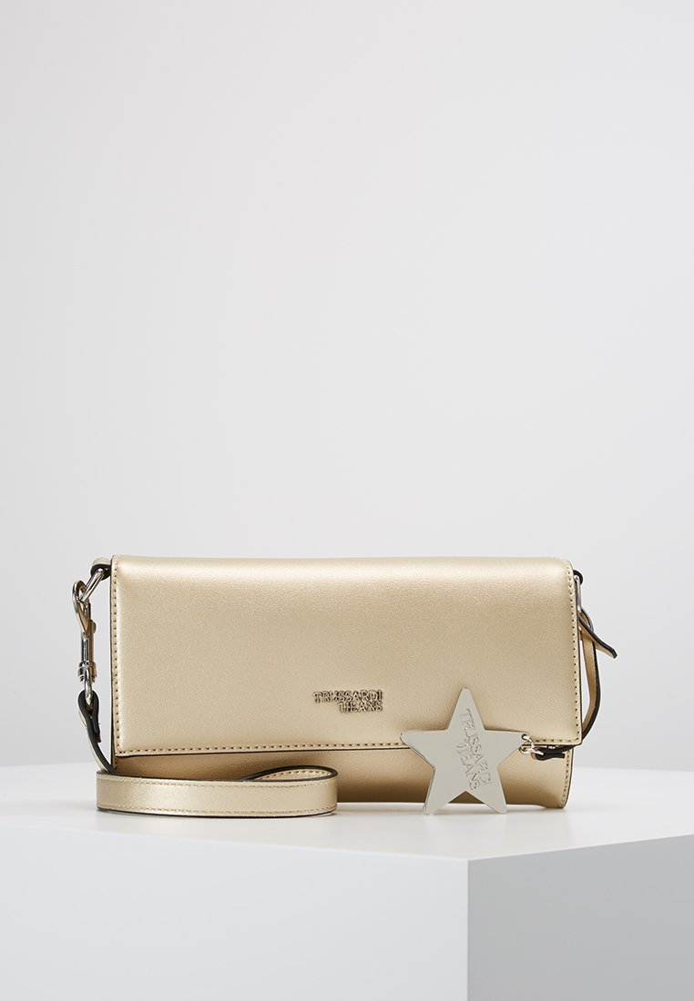 Trussardi Jeans - EASY STAR  - Clutch - metal gold