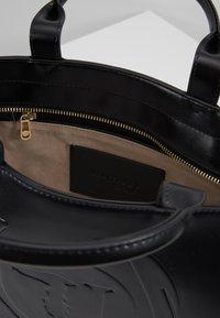 Trussardi Jeans - FAITH SMOOTH SHOPPER - Handbag - black - 4