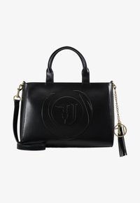 Trussardi Jeans - FAITH SMOOTH SHOPPER - Handbag - black - 5