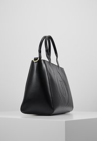 Trussardi Jeans - FAITH SMOOTH SHOPPER - Handbag - black - 3