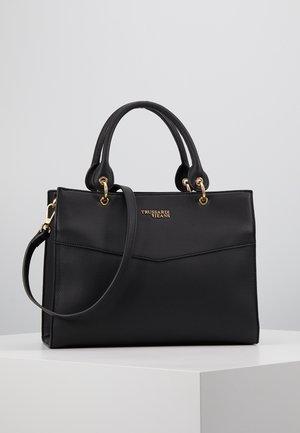 CHARLOTTE TOP HANDLE TUMBLED - Handbag - black