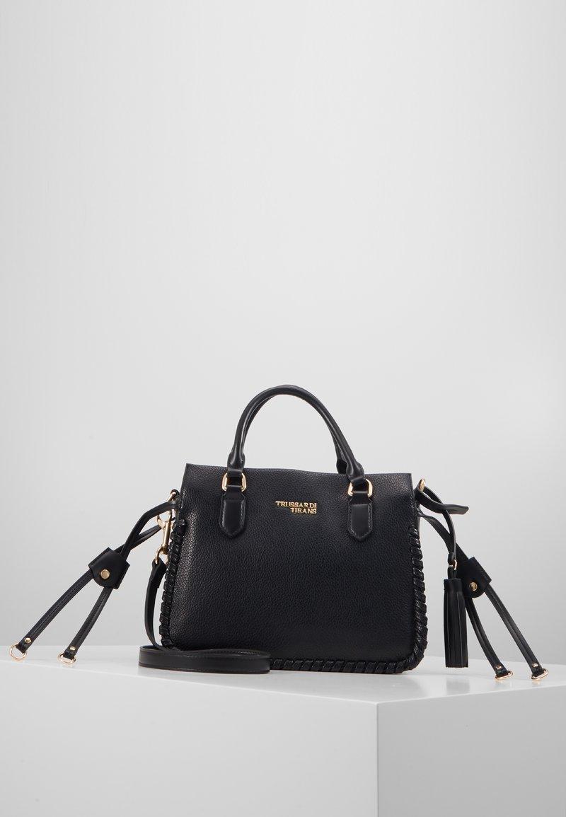 Trussardi Jeans - AMANDA HANDLE - Handtasche - black