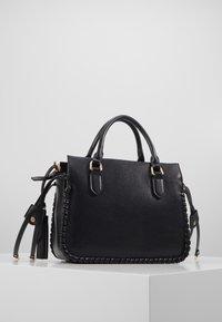 Trussardi Jeans - AMANDA HANDLE - Handtasche - black - 2