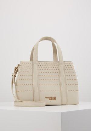 ANITA TOTE STRIPES STUDS - Handbag - mastic
