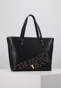 Trussardi Jeans - ELETTRA - Handtasche - black - 0