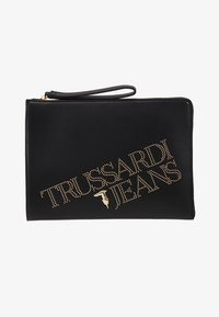 Trussardi Jeans - ELETTRA POUCH STUDS - Clutch - black - 5