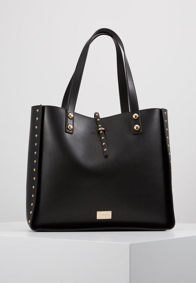 DAFNE MICRO STUDS SET - Håndtasker - black