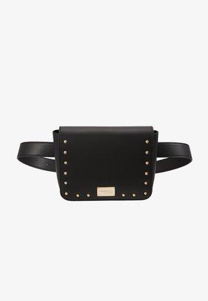 DAFNE BELT BAG MICRO STUDS - Bæltetasker - black