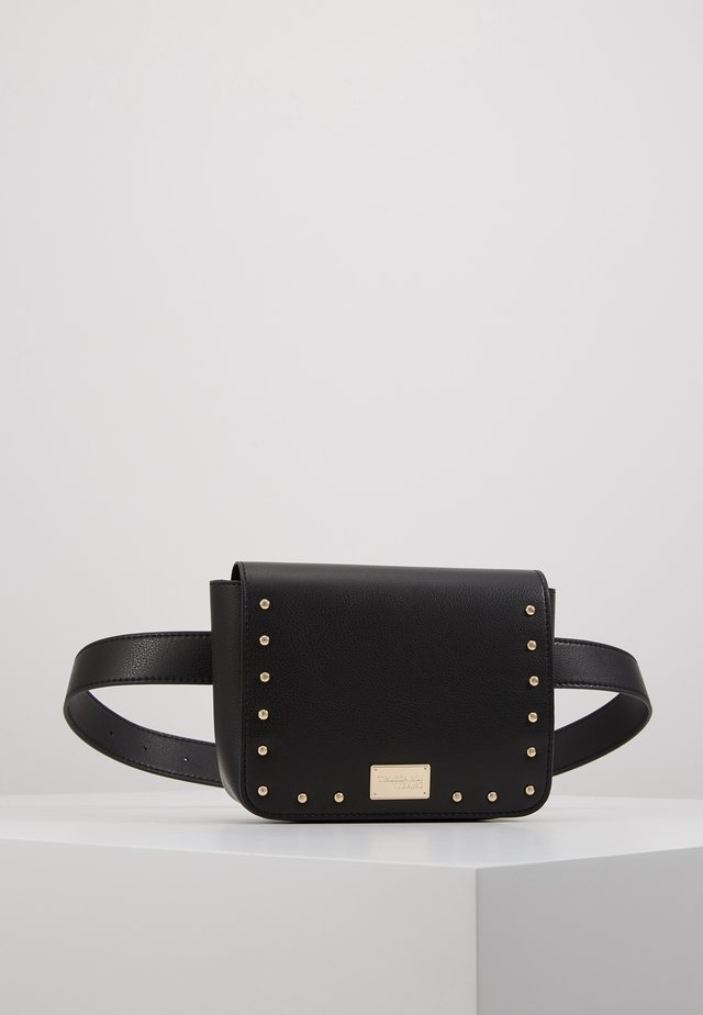 DAFNE BELT BAG MICRO STUDS - Rumpetaske - black
