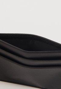 Trussardi Jeans - Custodia per biglietti da visita - black - 5