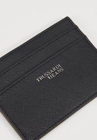 Trussardi Jeans - Custodia per biglietti da visita - black - 2