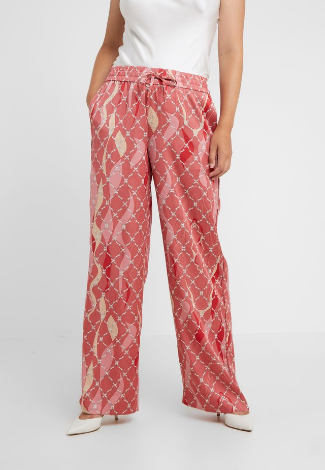 DREAMER TROUSER - Pantaloni - faded rose/tomato red