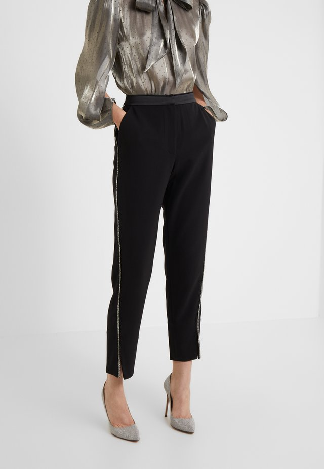 MAXINE TROUSERS - Stoffhose - black