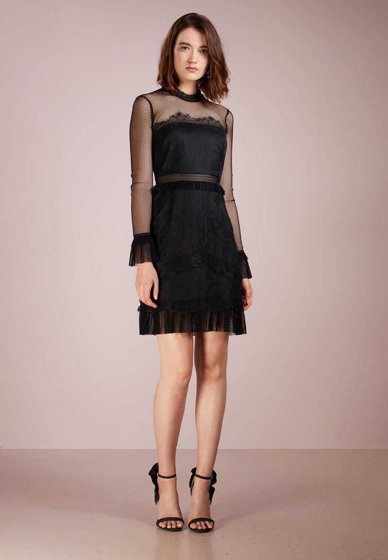 Three Floor - PITCH BLACK DRESS - Cocktailkjoler / festkjoler - black