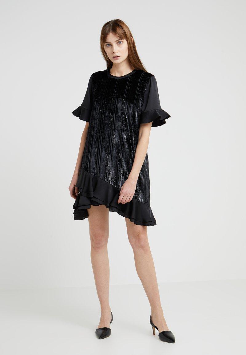 Three Floor - Koktejlové šaty/ šaty na párty - černá