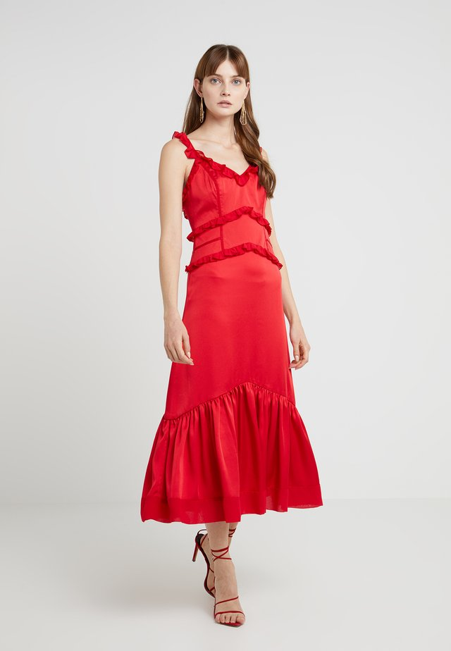 ROXY DRESS - Vestito estivo - scarlet red