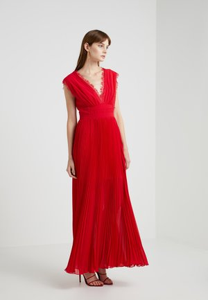 ALL OVER DRESS - Robe de cocktail - scarlet red