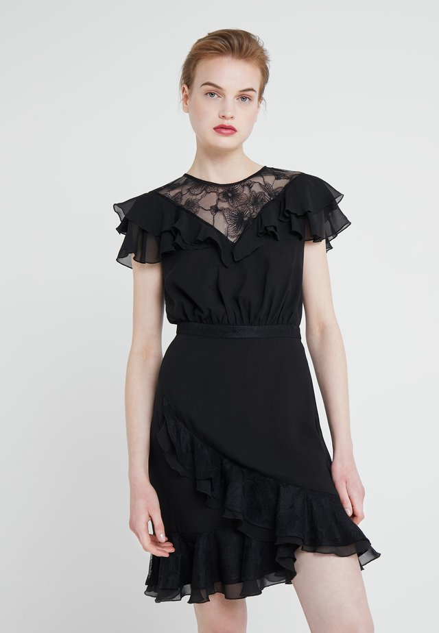 PAULO FALLS DRESS - Vestito estivo - black