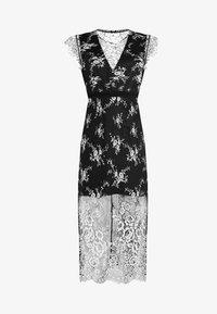 Three Floor - LYLA DRESS - Robe de soirée - black/off white - 4
