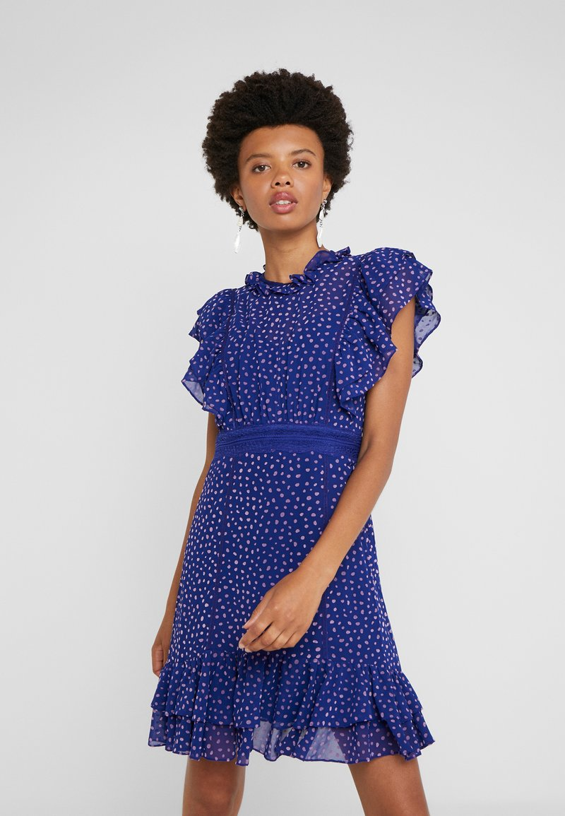 Three Floor - SPOT ON DRESS - Day dress - spectrum blue/violet
