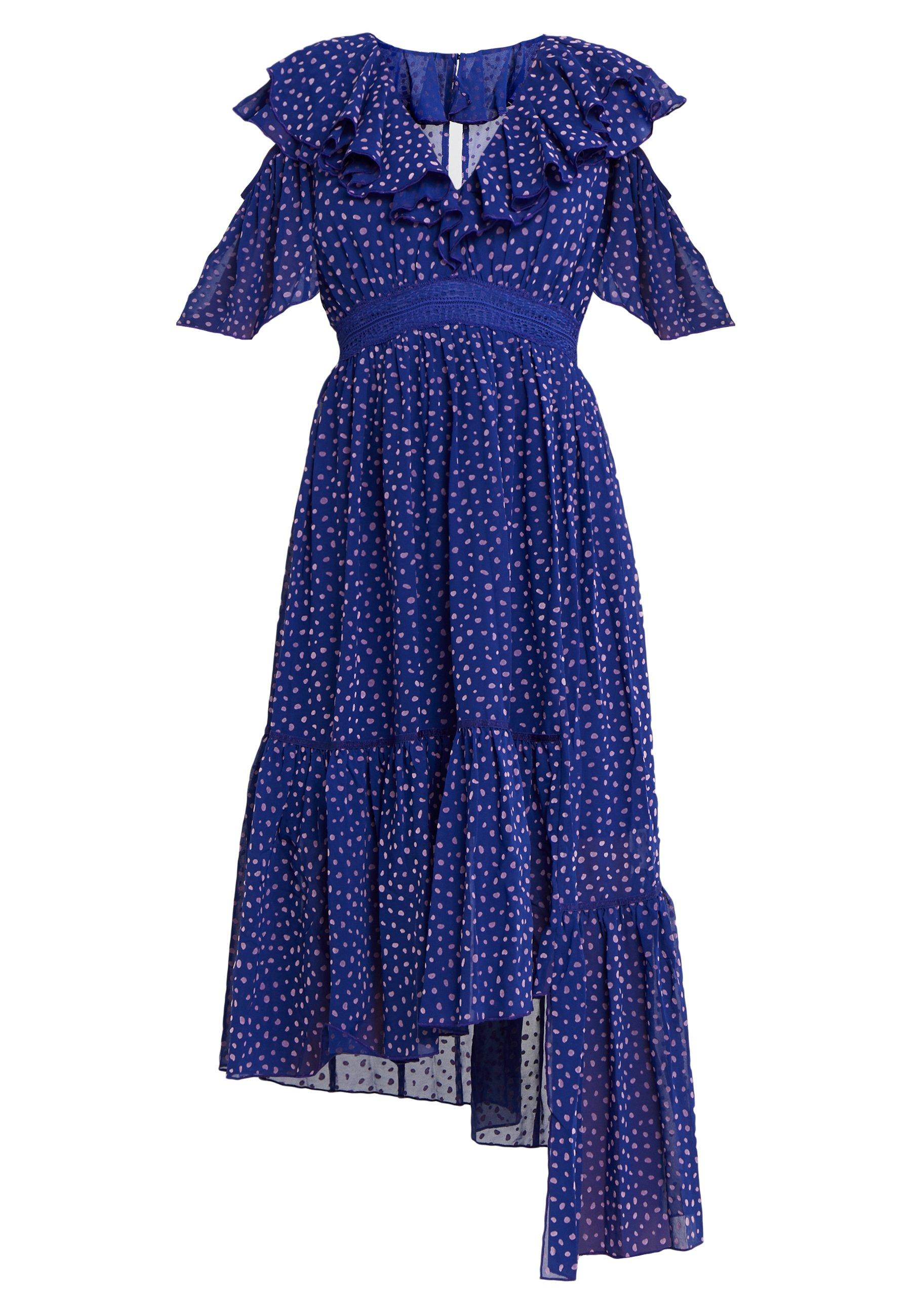 Three Floor Ada Dress - Vestido Informal Spectrum Blue/violet