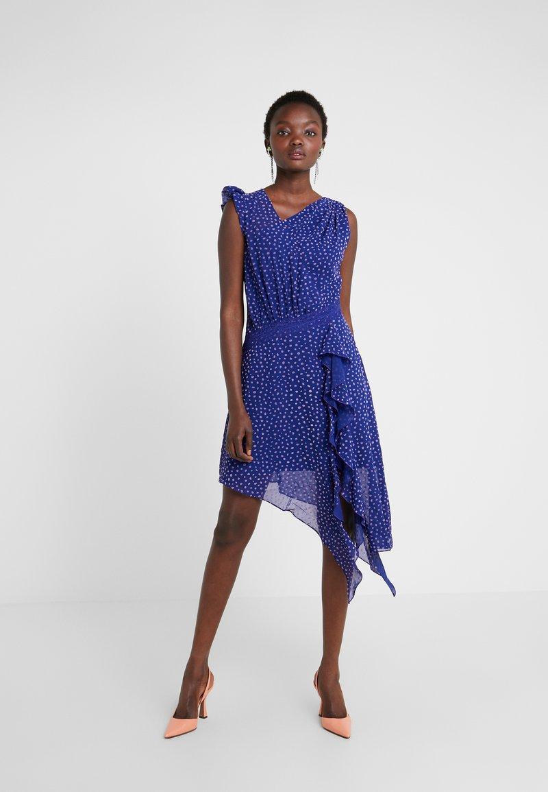 Three Floor - SPOT DIFFUSION DRESS - Cocktailkleid/festliches Kleid - spectrum blue/violet